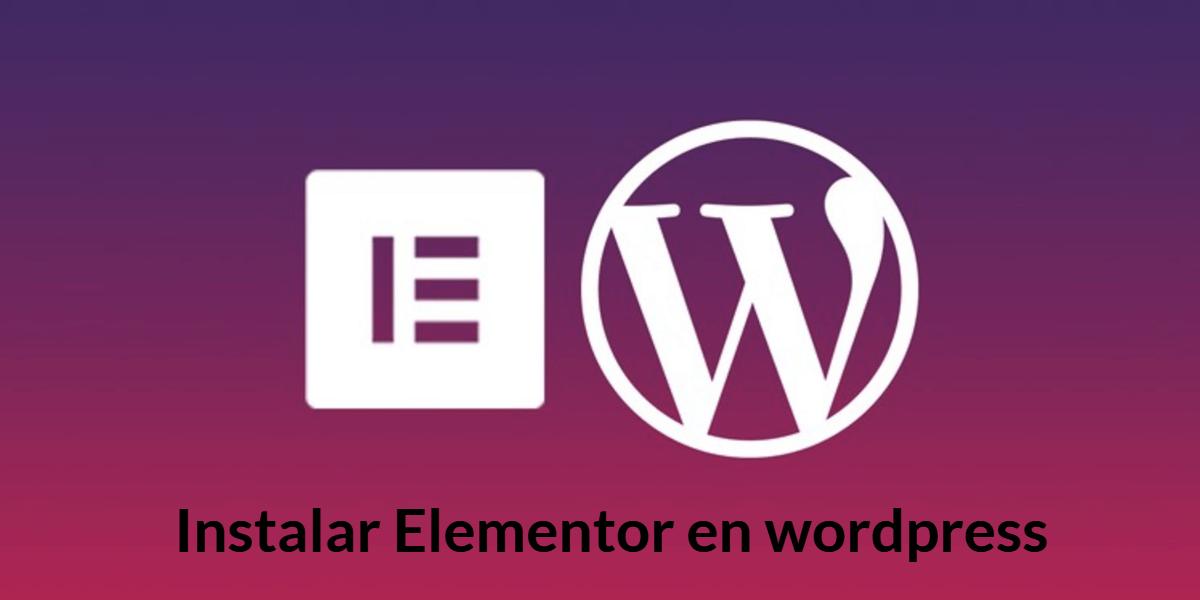Instalación-de-elementor-en-wordpress