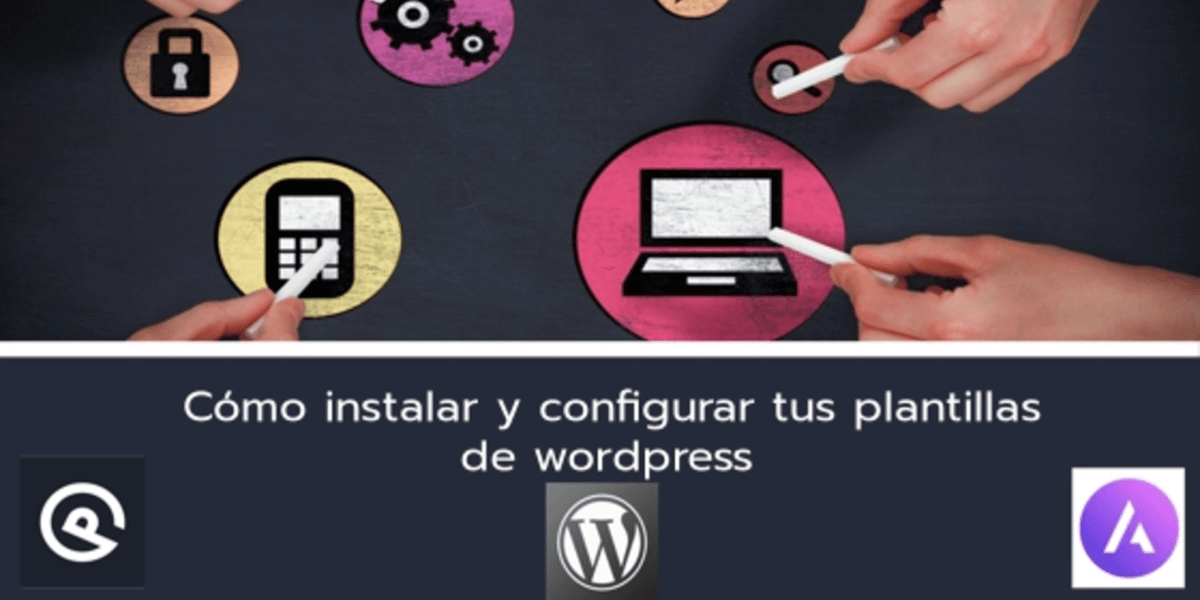 Instalar plantillas de wordpress
